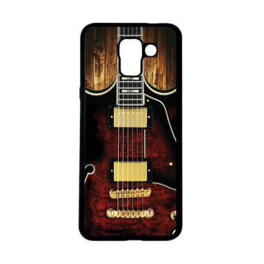 harga CARSTENEZIO Motif Unik Gitar Listrik 7 Softcase Casing for Samsung Galaxy J6 - Hitam Blibli.com