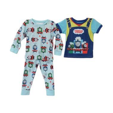 Junior Wardrobe Thomas & Friends 3in1 Piyama Baju Tidur Anak