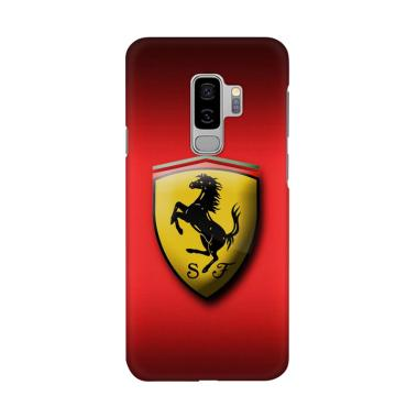Indocustomcase Ferrari Logo ID03 Co ... or Samsung Galaxy S9 Plus