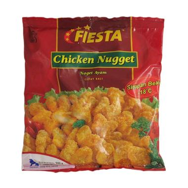 Fiesta Chicken Nugget Original 500gr FFS Frozen Food Sidoarjo Surabaya
