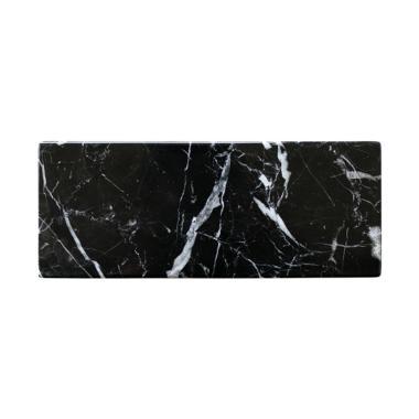 harga Glerry.co Miter Black Zircon Marble Aksen Dekorative [25 x 10 cm] Blibli.com