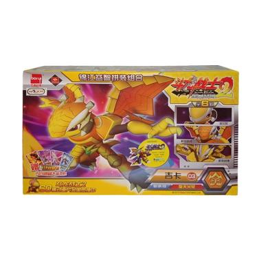 harga Toy Addict 9948A 03 Dragon Warrior Robot Bongkar Pasang 6 Model Kit - Kuning Ungu Blibli.com