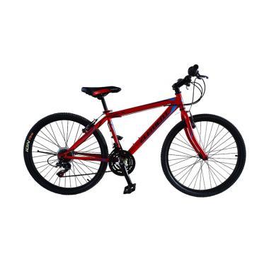 harga Element MTB XC Genius Shimano 21 Speed Sepeda Gunung - Merah [26 Inch] Blibli.com