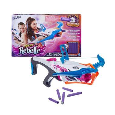 harga Hasbro Nerf Rebelle FocusFire Crossbow Mainan [Original] Blibli.com