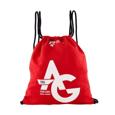 Asian Games 92-53-0009 Drawstring Bag - Red [AG-DS-001-C]