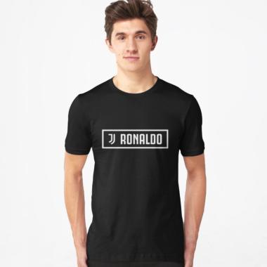 VR id Bola Juventus C Ronaldo T-Shirt Pria