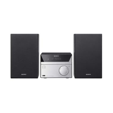 SONY CMT-SBT20 Hi-Fi System with CD ...  Bluetooth - Hitam Silver
