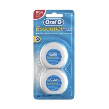 harga Oral B Essential Floss [2 Value Pack] Blibli.com