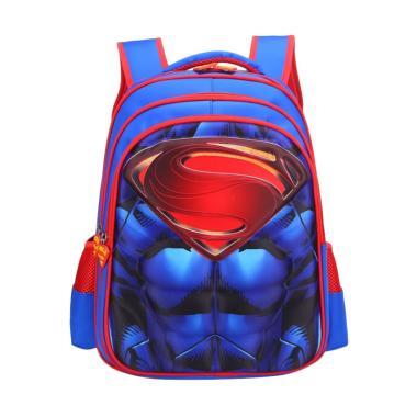 DJ Fashion P1014 Superman Tas Ransel Anak Laki-laki [16 Inch]
