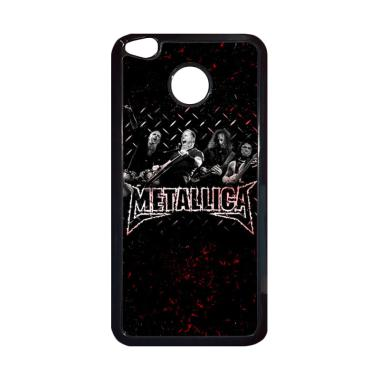 harga Bunnycase Metallica Rock Band LI0235 Custom Hardcase Casing for Xiaomi Redmi 4X Blibli.com