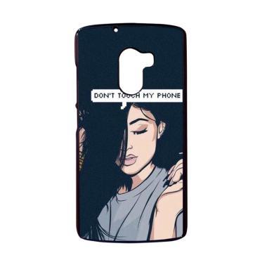 harga Bunnycase Dont Touch My Phone Kylie Jenner L0008 Custom Hardcase Casing for Lenovo K4 Note/ A7010/ Vibe X3 Lite Blibli.com