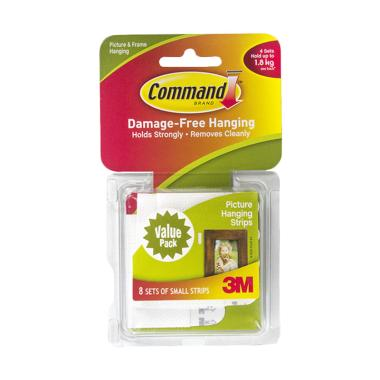 3M 17205 Command Hook Small Picture Hanging Strips