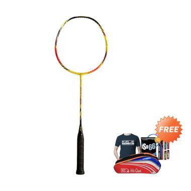 Hi-Qua Aeronetik 7000 Raket Badminton + Free Bonus Tas + Kaos + Senar + Grip