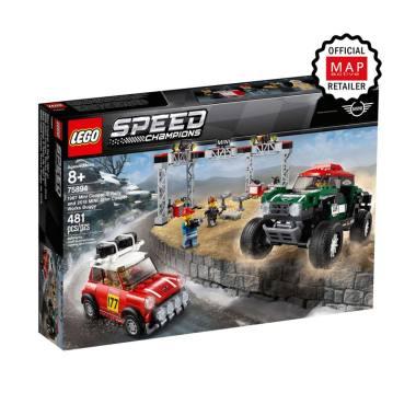 LEGO Speed Champions 1967 [75894] Mini Cooper S Rally and 2018 MINI John