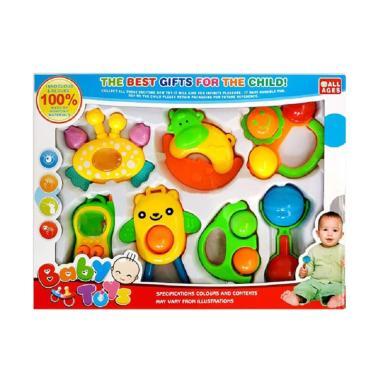OICE Rattle Toy Bell Set Mainan Bayi