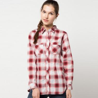 Jual Baju Kemeja Wanita Lengan Panjang Online - Harga Baru Termurah ... 4fa08e8940