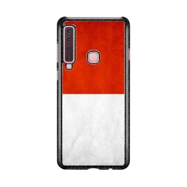 Acc Hp Bendera Merah Putih QW0148 Custome Casing for Samsung A9 2018