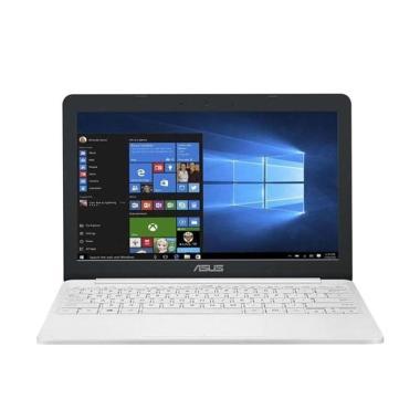 harga Asus VivoBook E203MAH-FD012T Mini Laptop - Pearl White [11.6 iNCH/ N4000/ 2GB/ 500GB/ Win10/ No ODD] Blibli.com
