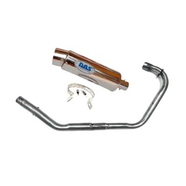 harga DBS Bulat Knalpot Racing Motor for Honda Legenda - Chrome Blibli.com