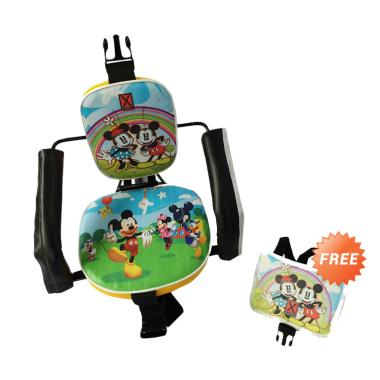 harga EXPRO Karakter Mickey Mouse Kursi Boncengan Anak - Hijau + Free Pelindung Dada Blibli.com