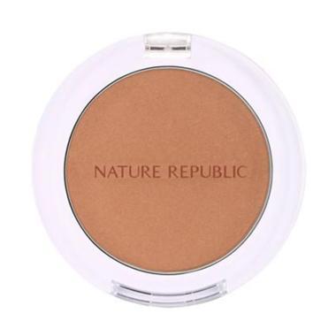 harga Nature Republic By Flower Blusher Blush On 08 Cinnamon Mocha Blibli.com
