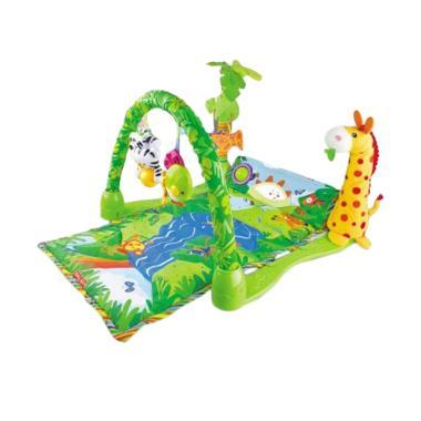 Toy House Baby Gift Rainforest Jungle Playmat Mainan Anak