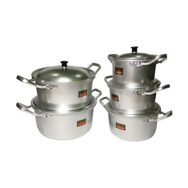 Halco Souce Pot Panci Set Peralatan Memasak [5 Pcs]