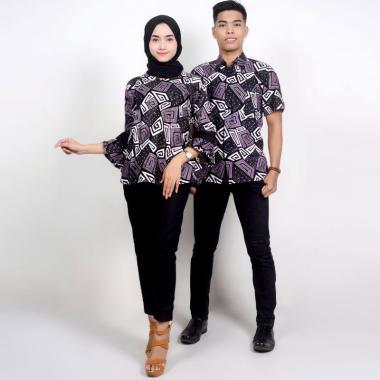 King Projo Motif Gg Baju Batik Couple