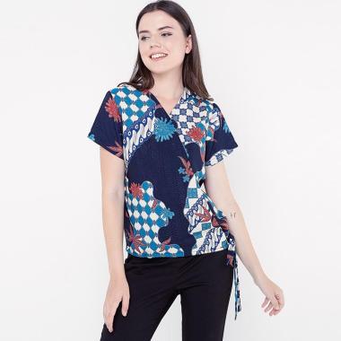 harga FBW Kumi Kimono Batik Bunga Blouse Wanita Baju Couple Blibli.com