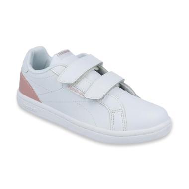 25d4357e Reebok Royal Complete Clean 2V Girls Classic Shoes Sepatu Anak Perempuan