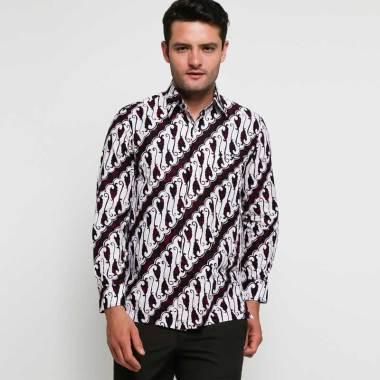 Adiwangsa Slim Fit Modern Baju Kemeja Batik Pria 314