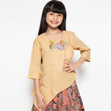 Nayara Batik Blouse Saputangan Winata Atasan Anak Perempuan