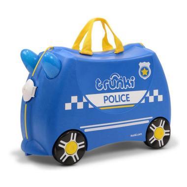 harga Trunki Ride On Pull Along Children's Suitcase Police Car Tas Sekolah Anak - Blibli.com