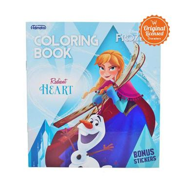 Disney Frozen Radiant Heart Coloring Book S