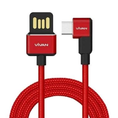 VIVAN BWM100 Micro USB Gaming Kabel Data for Android [2.4A/ 1 m]