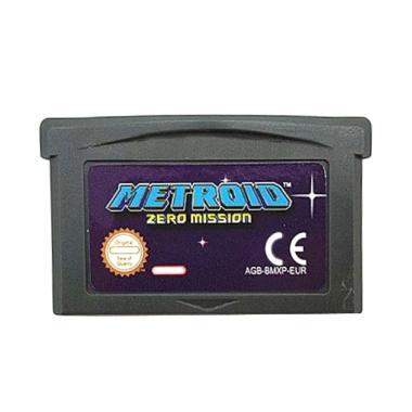 harga Bluelans Metroid Zero Mission Game Cartridge Card for Nintendo GBA EUR Version Blibli.com