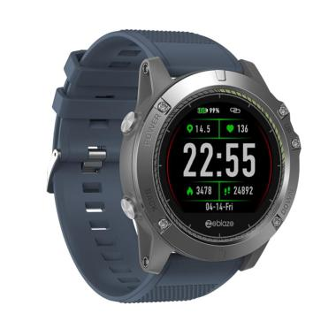harga Bluelans Zeblaze VIBE3 HR Waterproof Heart Rate Monitor Sport Smart Watch for Android iOS Blibli.com