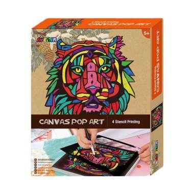 harga Avenir Lion 1343 Canvas Pop Art Blibli.com