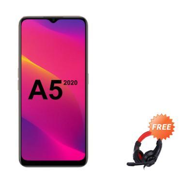 harga OPPO A5 2020 Smartphone [128 GB/ 4 GB] + Free Headphone Blibli.com