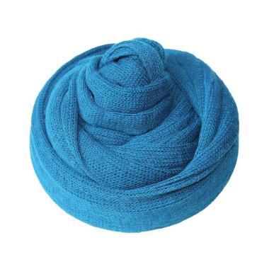 harga Bluelans Newborn Baby Sleeping Blanket Stretchy Knitted Yarn Wrap Swaddle Photo Props Blibli.com