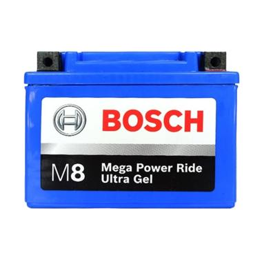 harga Bosch M8 Ultra Gel RBTZ-5S Aki Motor Honda Beat/Vario/Supra X 125/Revo/Yamaha Mio [HARGA SPESIAL AKHIR TAHUN, DIJAMIN ORI DAN BARU] Blibli.com