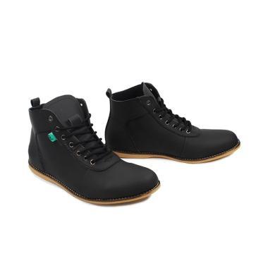 harga Kickers Casual Brodo Bandit Sepatu Pria - Hitam Blibli.com
