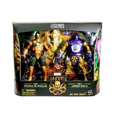 "Marvel Legends HYDRA SUPREME CAPTAIN AMERICA /& ARNIM ZOLA Pack 6/"" Figure Hasbro"