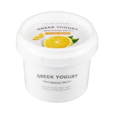harga Nature Republic Greek Yogurt Pack Orange Masker Wajah [Whitening] Blibli.com