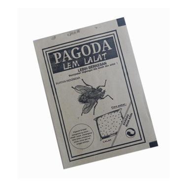 harga PAGODA Glue Pad Lem Perangkap Lalat Sekali Pakai Blibli.com