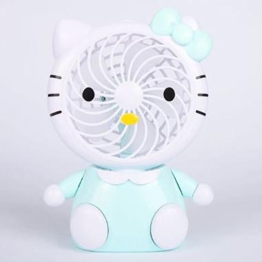 harga Hello Kitty Duduk HK D Kipas Angin Mini - Biru Blibli.com