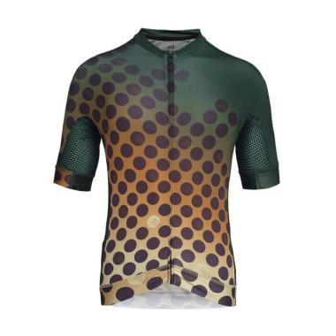 Santini Black 365 Classe Short Sleeved Cycling Jersey