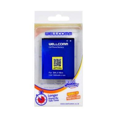harga Wellcomm Baterai Handphone for Samsung J1 Mini [Original/1500mAh] Blibli.com