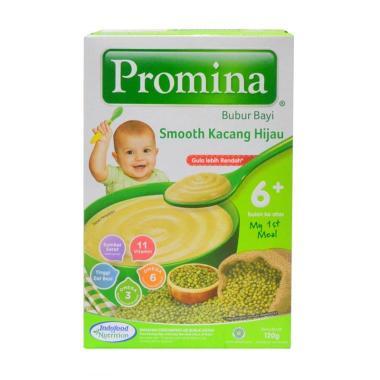 harga Promina Smooth Kacang Hijau Bubur Bayi Instan [6 Bulan / 120 g] Blibli.com