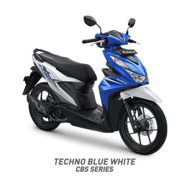 harga Honda New BeAT Sporty CBS Sepeda Motor [VIN 2020- OTR Sumatera] Blibli.com